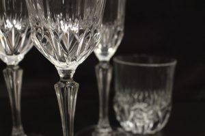 Glasses by Delizia Ricevimenti