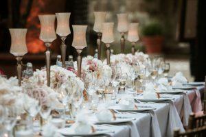 Tables by Delizia Ricevimenti Catering