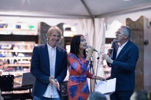 Micheal Bay Premio Porcellino 2018 Firenze, cena Delizia Ricevimenti